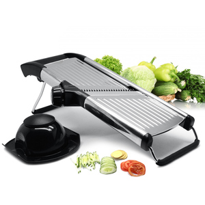 Adjustable vegetable slicer