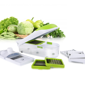 Multipurpose Vegetable Chopper Mandoline Spiralizer Slicer