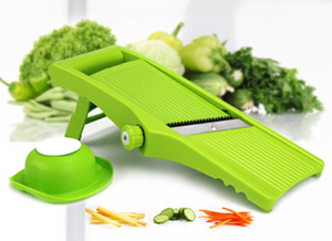 Mini Plastic V blade mandolin vegetable cutter